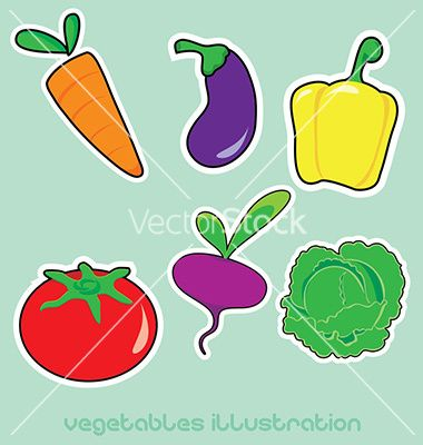Vegetable vector vegetables Vector Illustration catoon lok resizeable for every use. please be kinly like and share