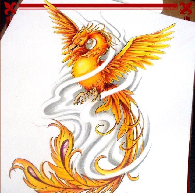 Diseñado y tatuado por nuestros tatuadores / Designed and tattooed for our tattoo artists. #Wildcat #Tattoo #Studio #Colors #Colores #Tatuajes #naranja #Fenix #Talento #talent