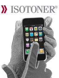 I love these gloves. You can use your smartphone with them on. No more answering calls with your nose.