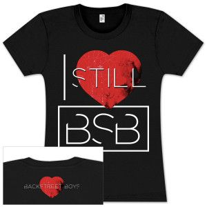 Backstreet Boys I Still Love Bsb Ladies T Shirt