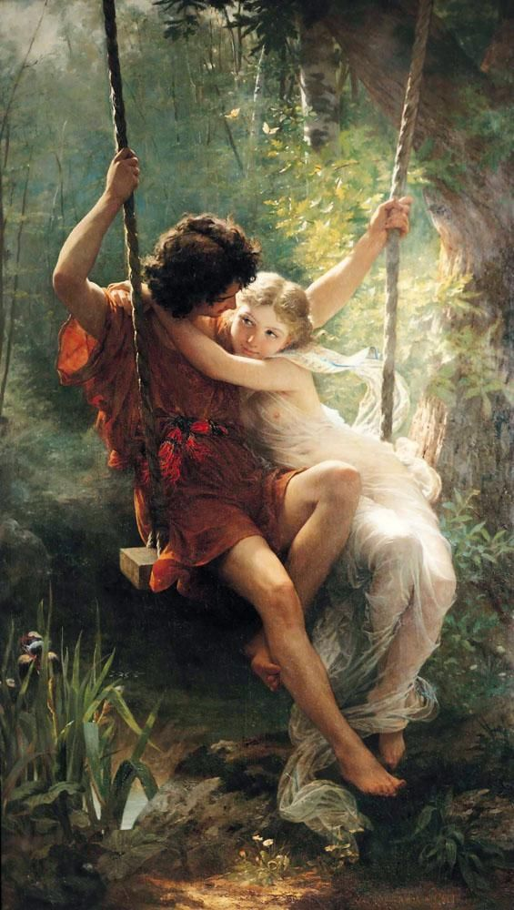 La Printemps by Pierre-Auguste Cot