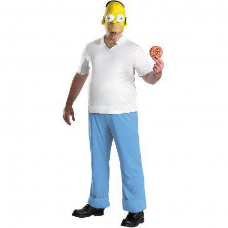 Mens Homer Simpson Costume