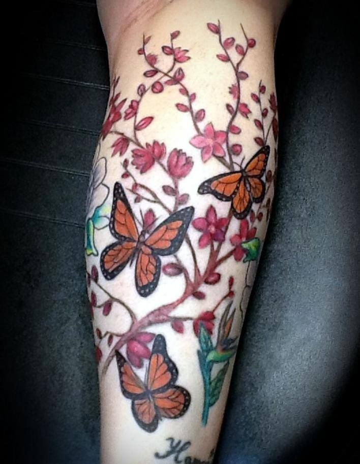 110 best ideas about tattoo designs for girls on pinterest for Butterfly tattoo arm designs