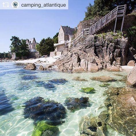 #Bretagne #Fouesnant #@camping_atlantique