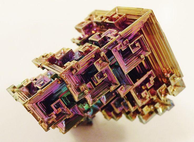 bismuth crystals - Buscar con Google