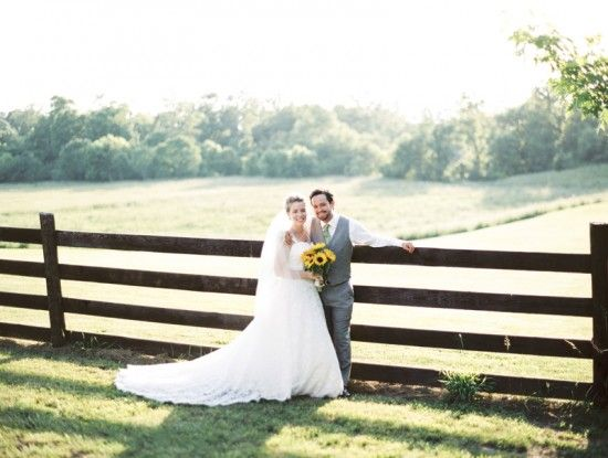 country chic wedding in Virginia Sweet Tea Photography 10 550x415 Vintage Country Chic Wedding Reception in Virginia: Eileen + Greg khimaira farm