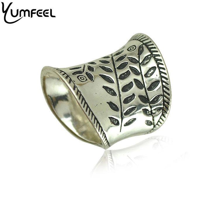 Nieuwe Vintage Boho Ringen Sieraden Unieke Carving Paiting Verklaring Ringen voor Vrouw