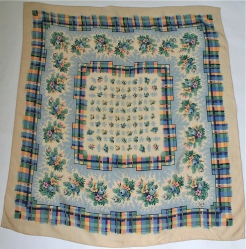 94 best Vintage Scarves images on Pinterest | Head scarfs ...