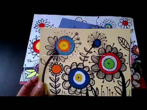 How to draw FLOWERS | krokotak