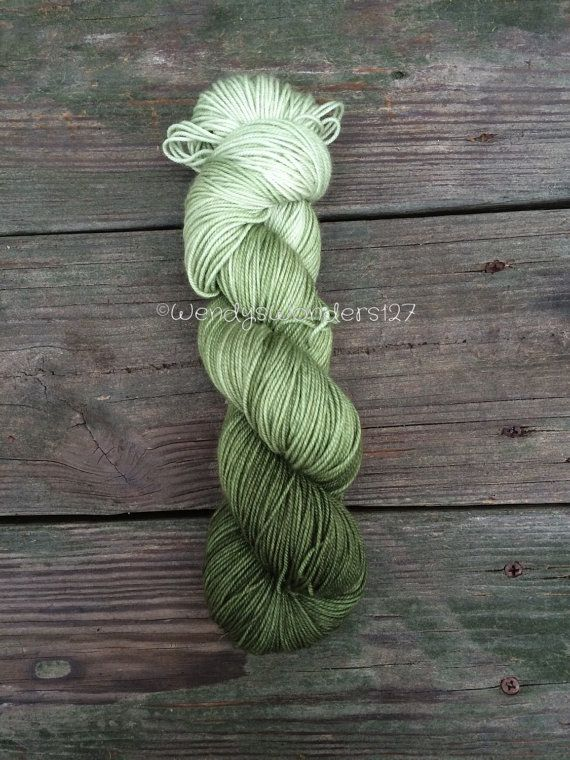 Hand dyed yarn Sport Weight Variegated Yarn by WendysWonders127