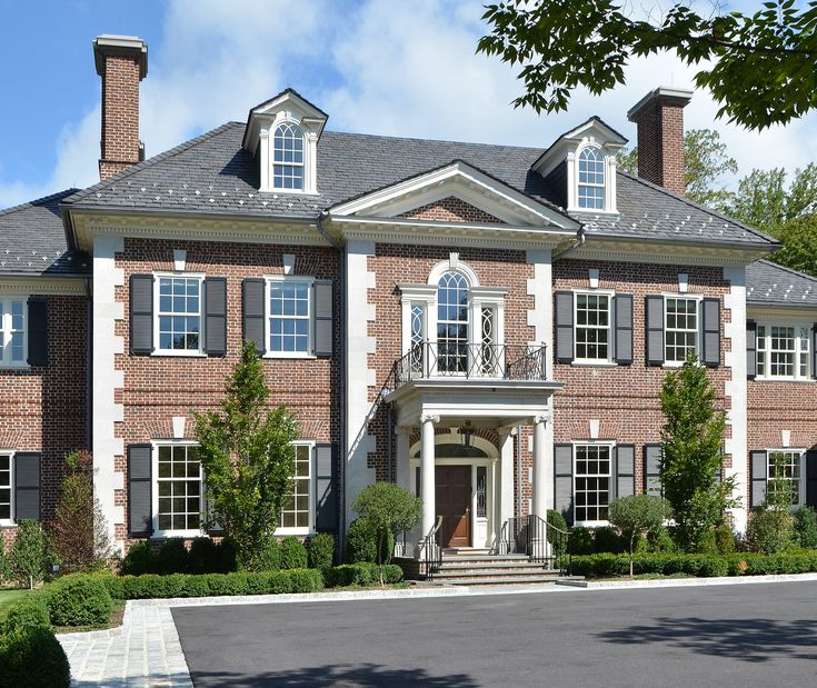 dering hall exterior ideas pinterest hall georgian and house - Luxury Homes Exterior Brick