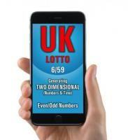 Lotto Winner for UK Lotto 6/59