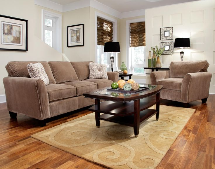 Broyhill Furniture Maddie Living Room Collection Featuring Sofa Chair And Loveseat