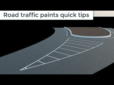Road traffic paints quick tips in 3ds max and corona - YouTube