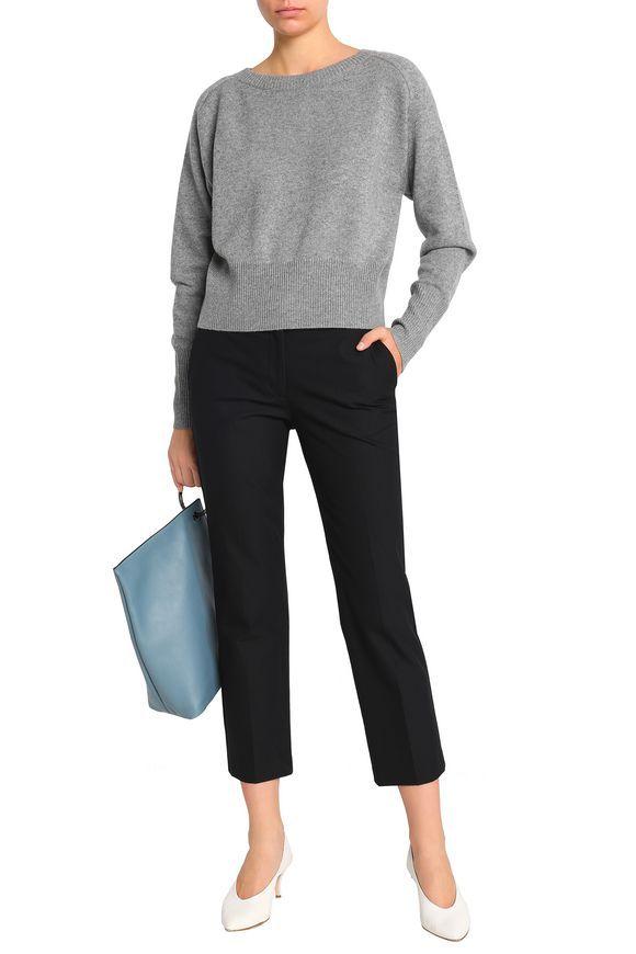 331fcbe37ed THEORY Mélange cashmere sweater