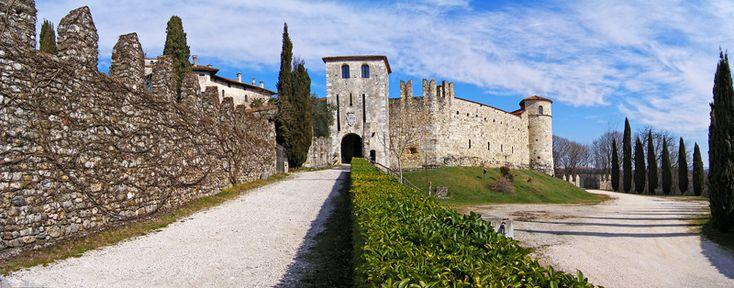 Castello di Villalta nel cuore del Friuli