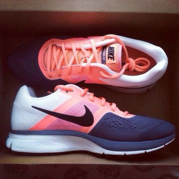 Nike running shoes sportswear pink