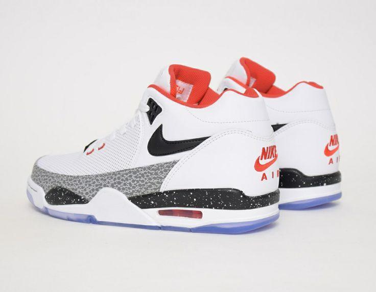 Nike Flight Squad QS White