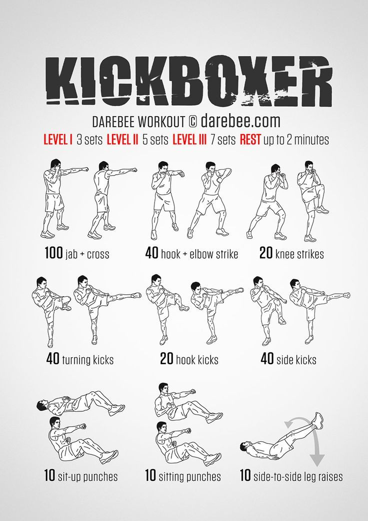 Kickboxer Workout: Conquer Fear. Instill Power. OTZMA ...