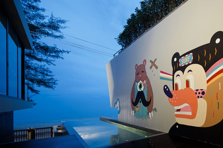 #bearbrick house by onion
