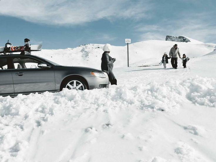 Llega hasta el final, donde te lleve tu #Volvo