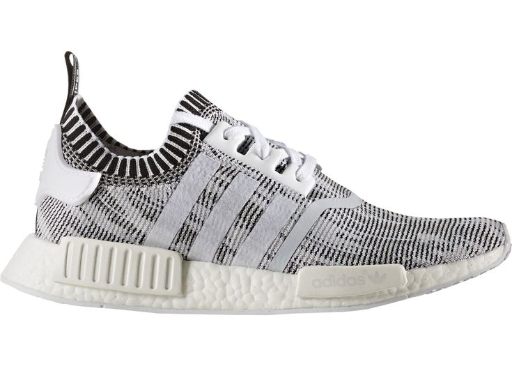 adidas NMD R1 Glitch Camo White Black - STYLE BY1911 - COLORWAY: FOOTWEAR  WHITE/