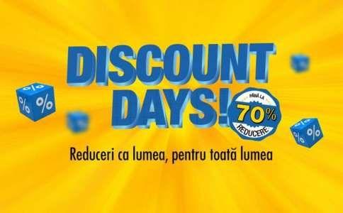 Flanco anunta Discount Days cu Reduceri de pana la 60% la Mii de produse din Stoc