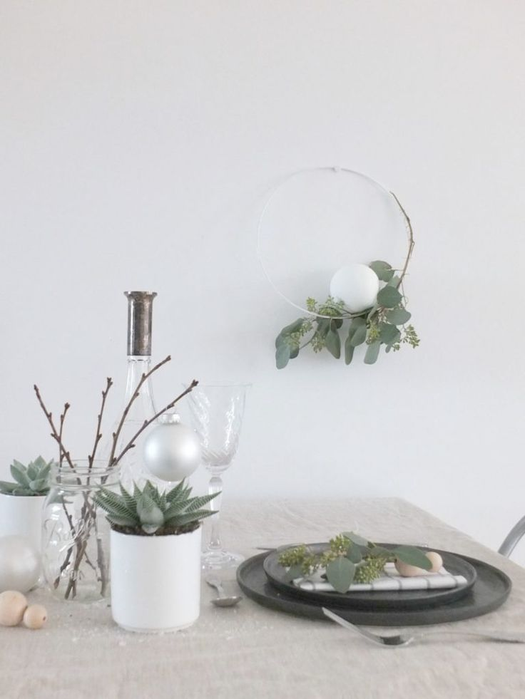 [Table Setting] ↠ Schlicht & schön! Inspiration für euren Weihnachtstisch ♡