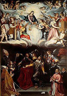 Alonso Vázquez. Tránsito de San Hermenegildo. Hacia 1602
