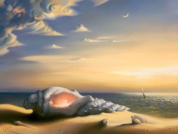 Landschaftsmalerei surrealismus  Die 25+ besten Pintura surrealista Ideen auf Pinterest ...