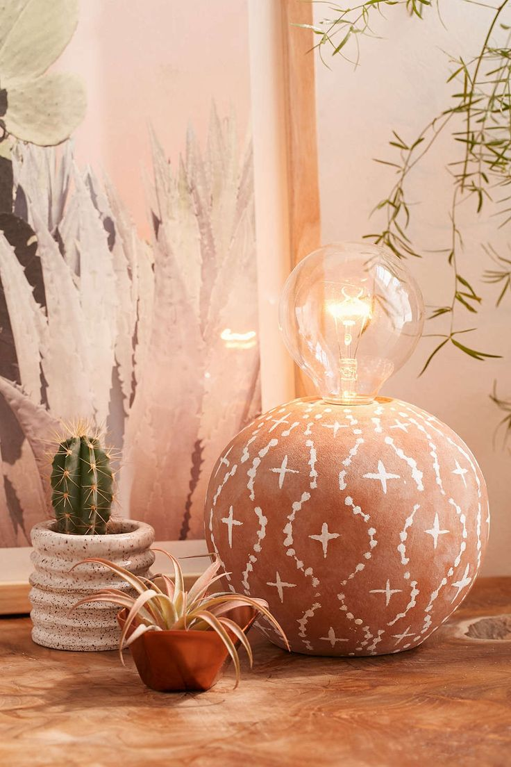 Alder Terracotta Table Lamp - Urban Outfitters