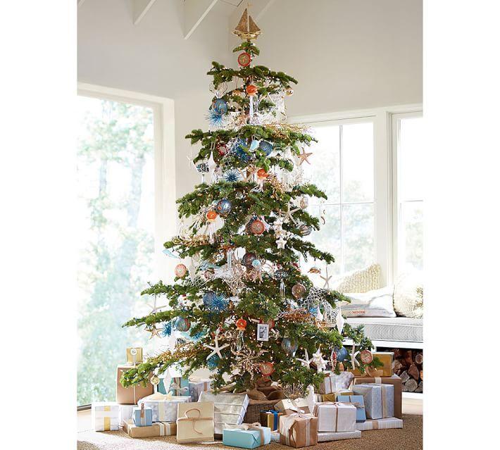 Artificial Silvertip Christmas Tree