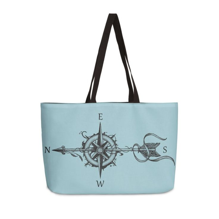 """Compass with arrow"" by #Beatrizxe 