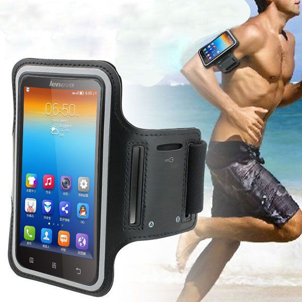 """For Lenovo Waterproof Case,Running Sports Workout Armband Gym Exercise Mobile Phone Bags Cases For Lenovo S650 6 Color 4.7"""""""