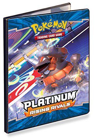 Pokemon Card Game Supplies 9-Pocket Large Portfolio Binder Platinum II Rising Rivals Review 2017