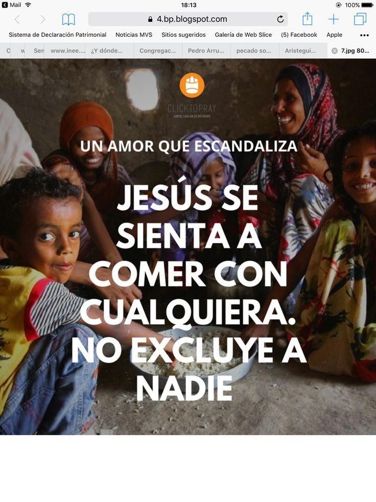 Jesús no excluye