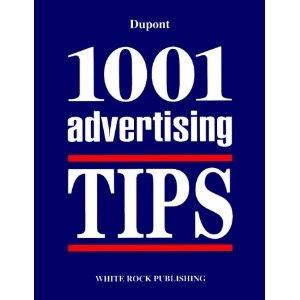 1001 Advertising Tips (première édition)