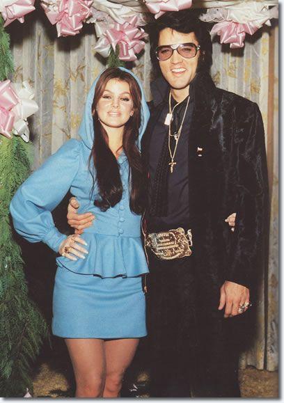 Priscilla & Elvis Presley, 1970