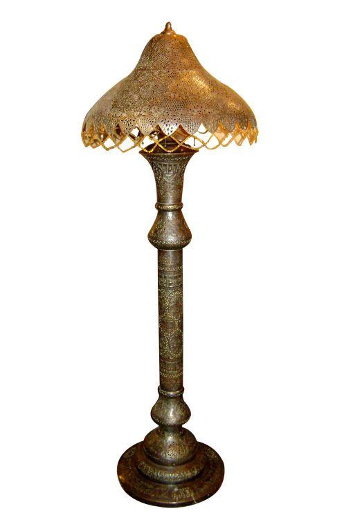 Moroccan floor lamp 1stdibscom moroccan escape for Doughnut c floor lamp