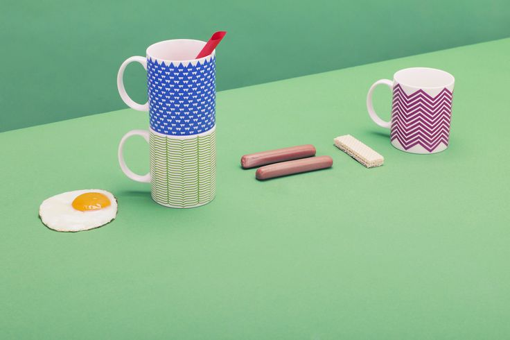 THE MUG is the product of the Portuguese graphic designer Catarina Carreiras. Drawing inspiration from the Benetton values, vision and its avant-guard graphic heritage, Catarina played with different patterns, symbols and colors giving a simple but strong visual impact to an iconic object which accompanies us all day. #themug #unitedcolorsofbenetton #fabrica #catarinacarreiras #fabricadesignstudio Designed by Catarina Carreiras - Pictures by Marco Zanin / Fabrica