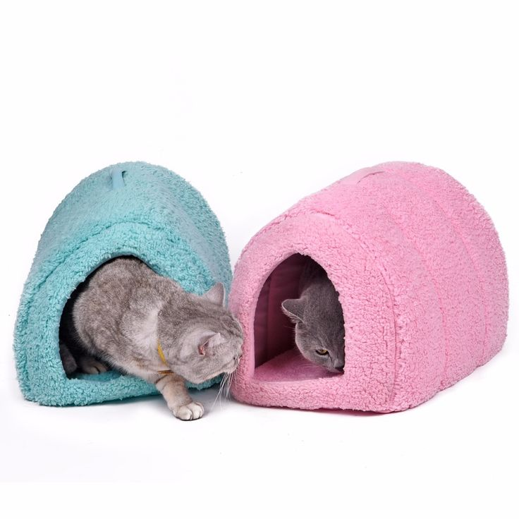 Free Shipping 5 Colors Cotton Pet Cat Cave Warm House Soft Home Pet Cat Bed Cute Nest For Kitten Puppy Indoor Outdoor House