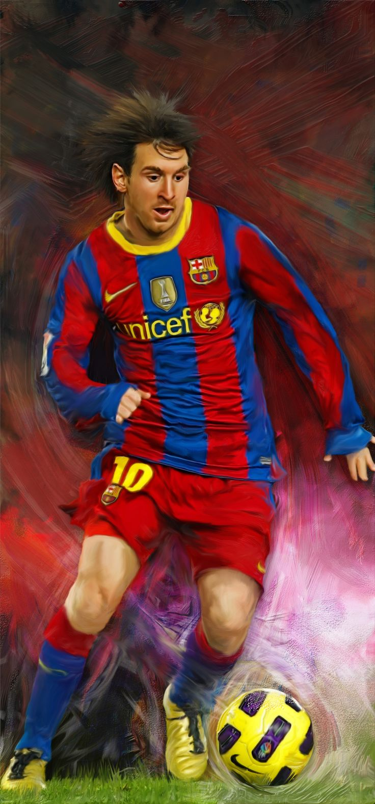 Lionel Messi By Joenaf