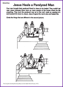 35 best JESUS HEALS THE PARALYTIC MAN!!! images on