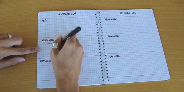 """Oubliez agendas et calendriers, la méthode du """"Bullet Journal"""" va révolutionner…"""