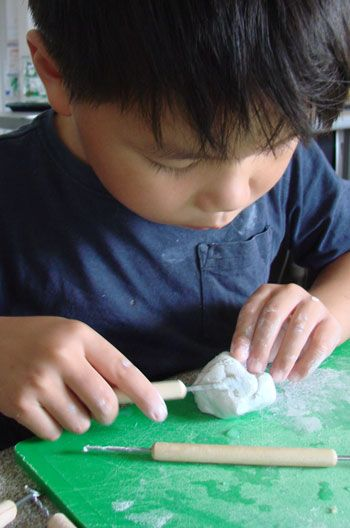 Tips for using real art tools with children