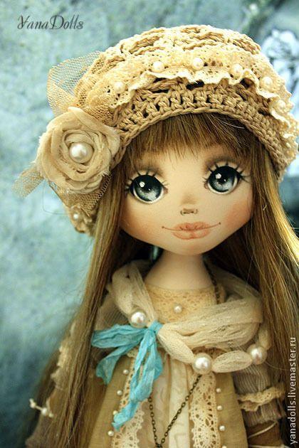 Коллекционные куклы ручной работы. Veronika. YanaDolls. Ярмарка Мастеров. Авторская кукла, ручная работа, кукла текстильная, кружево