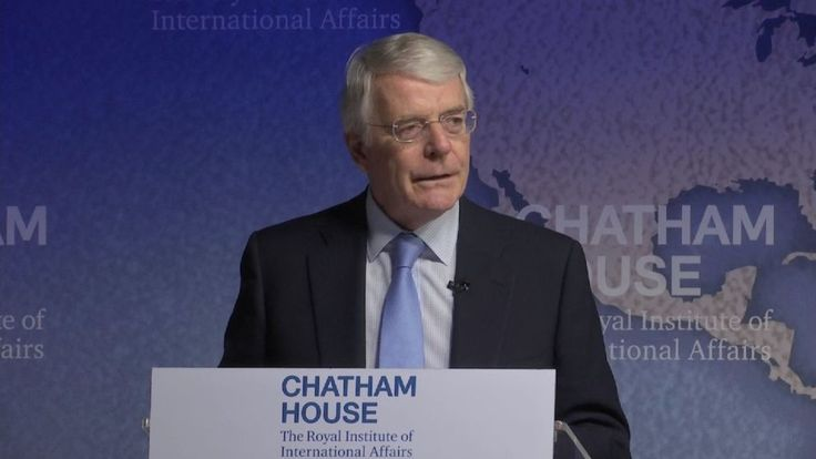 Former PM Sir John Major: Brexit voters made a 'historic mistake'
