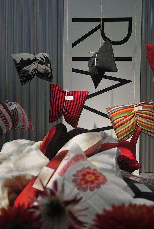 Retail VM | Visual Merchandising | Home Adornment | Retail Design | Shop Design |Pillow display