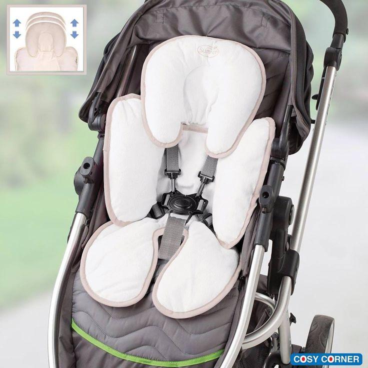Cool & Cosy Κάλυμμα Καροτσιού / Αυτοκινήτου - To μοναδικό κάλυμμα που παρέχει πλήρη στήριξη του κεφαλιού και του σώματος του μωρού. Διπλής όψεως: προσφέροντας δροσιά το καλοκαίρι και η άλλη πλευρά είναι από μαλακό, άνετο ύφασμα για ζεστασιά τον χειμώνα. https://goo.gl/mnR61L