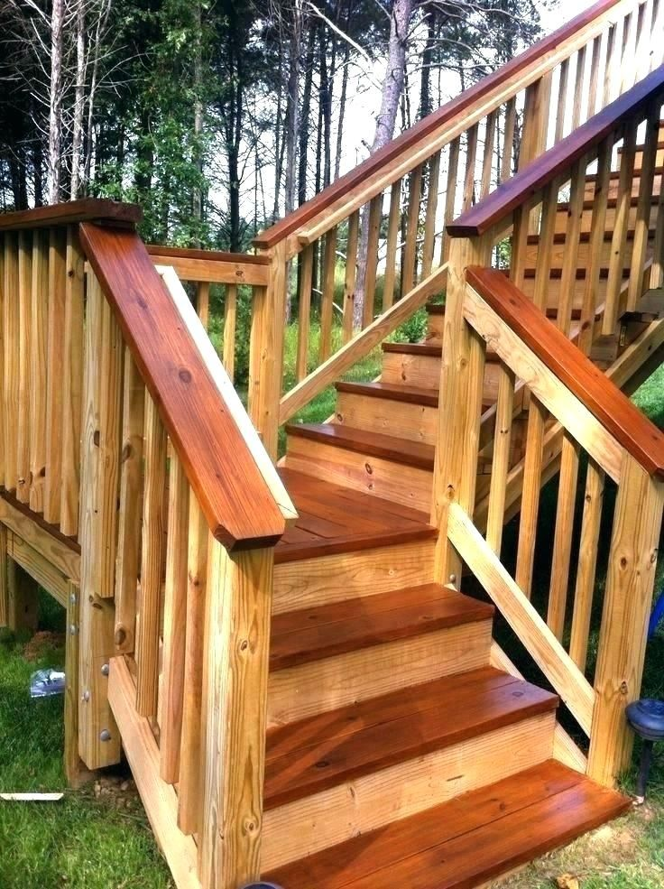 2 Tone Deck Two Tone Deck Deck Staining Ideas Deck Stain Ideas Two